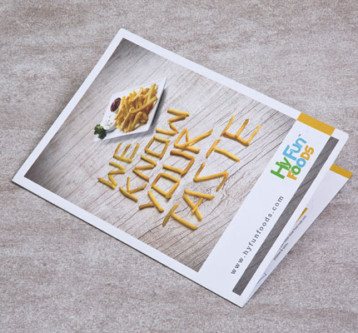 Hy Fun Foods brochure