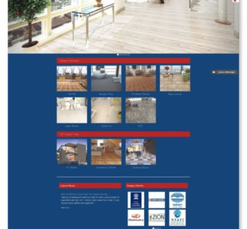 Signova Tiles Website Design