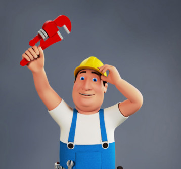 3D Character – Plumber